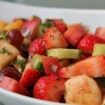 Seasonal Fruit Chaat
